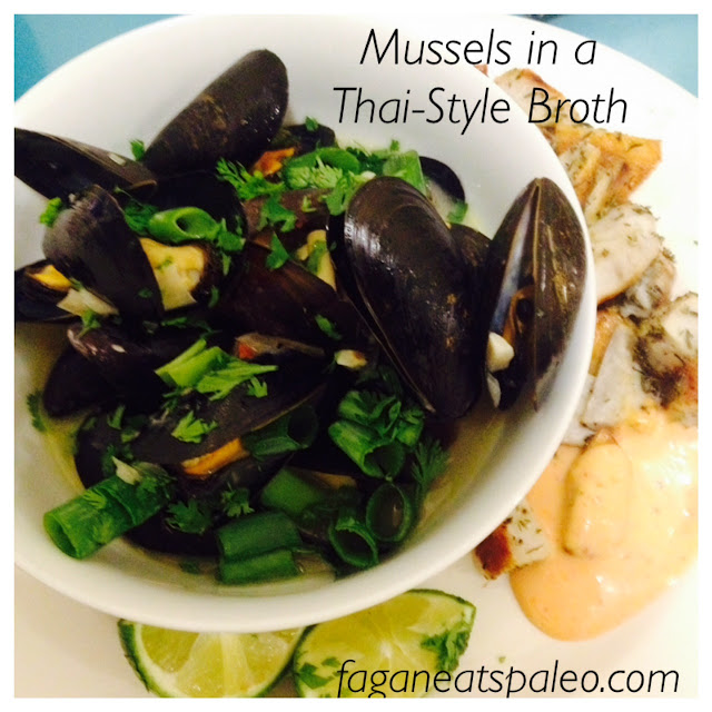 Mussels in a Thai Style Broth