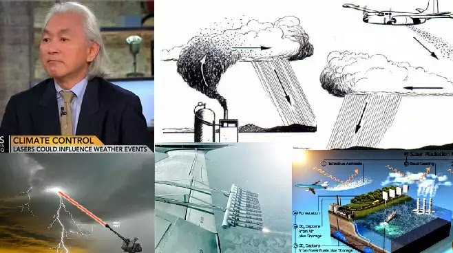 O κορυφαίος φυσικός Michio Kaku μιλά για την τροποποίηση του καιρού (Βίντεο)
