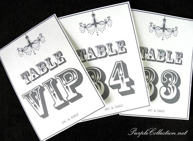 table number, chandelier, grey chandelier, elegant table number, vip table number