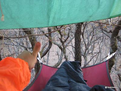 Refugio aéreo con hamaca - Un buen descanso