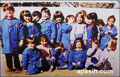 Messi dan teman-teman sekolahnya
