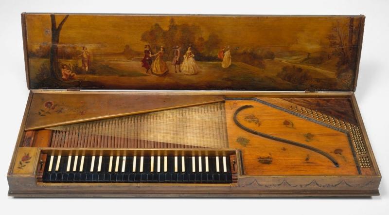 Instrumentos musicales. Clavicordio,%2BClavicord%2B01