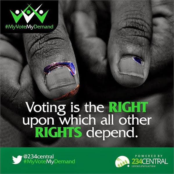 234central.com presents #MyVoteMyDemand