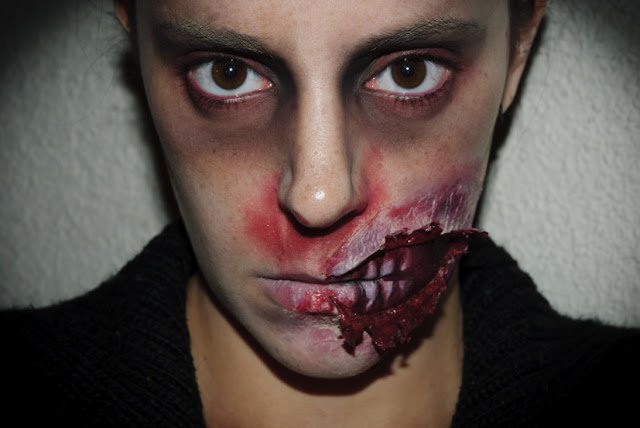 Maquillaje Halloween 5: Zombie FX (efectos especiales), Halloween Make up 5: Zombie FX (Special effects) Silvia Quirós