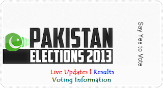 Pakistan Election 2013 logo