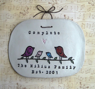 adorable personalized gift idea handmade memory giveaway from Elm Studios