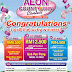 Result: AEON Count & Win Contest