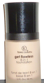 Femme Couture Get Flawless 8 in 1 Foundation