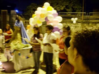Festividad de la virgen María del Cisne