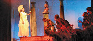 Mahinda College Drama Eumenides for State Drama Festival 2013