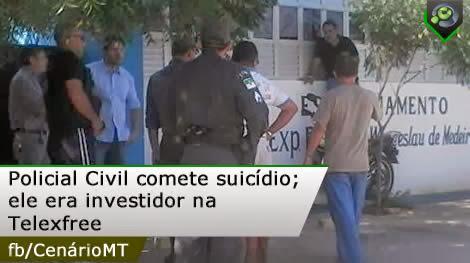 Um Policial Civil do Rio grande do Norte, que também figurava como investidor da Telexfree, cometeu suicídio no último dia 4.