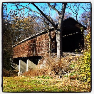 Hawksbill Cabin Sunday Drive Meems Bottom Covered Bridge