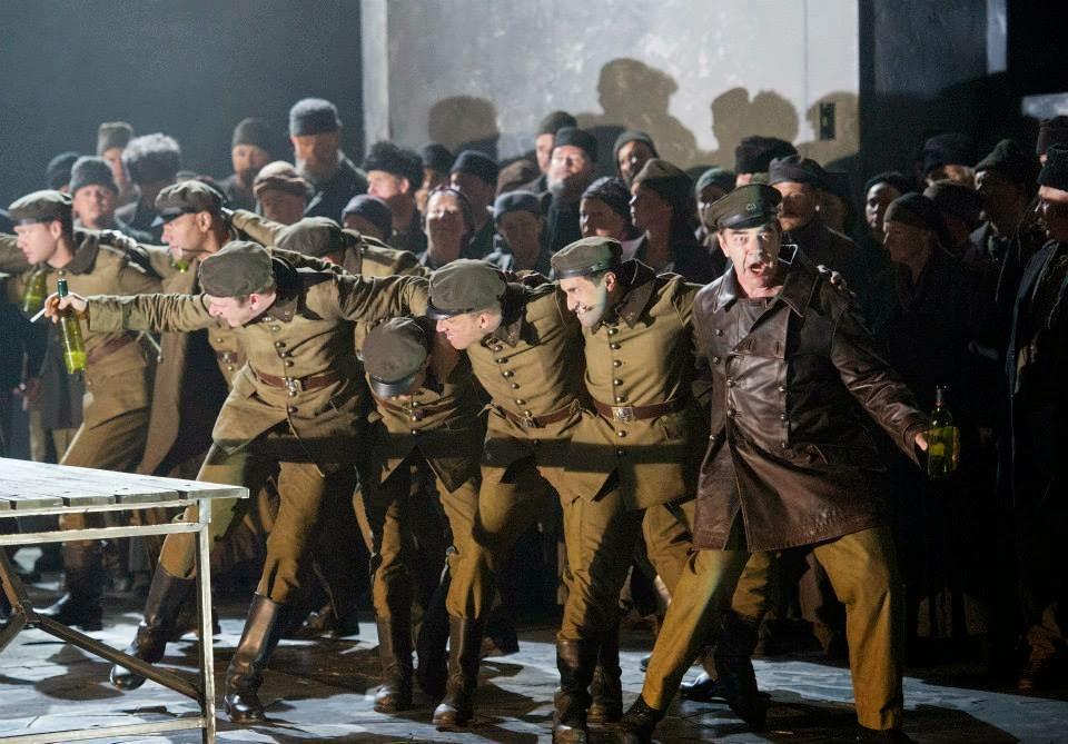 Jonathan Summers - Verdi's Otello - English National Opera - photo credit Alastair Muir