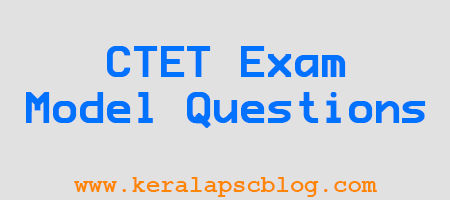 CTET Environmental Studies Exam Model Questions