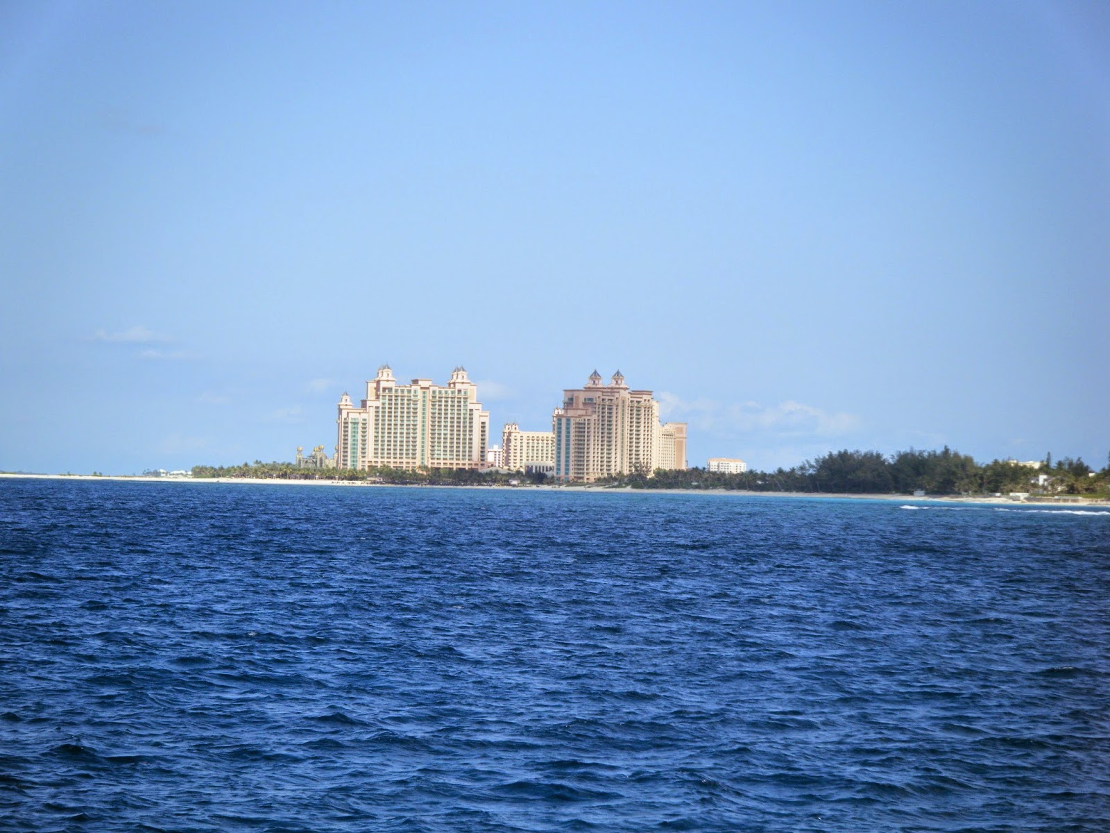 View Of Atlantis From The Boat