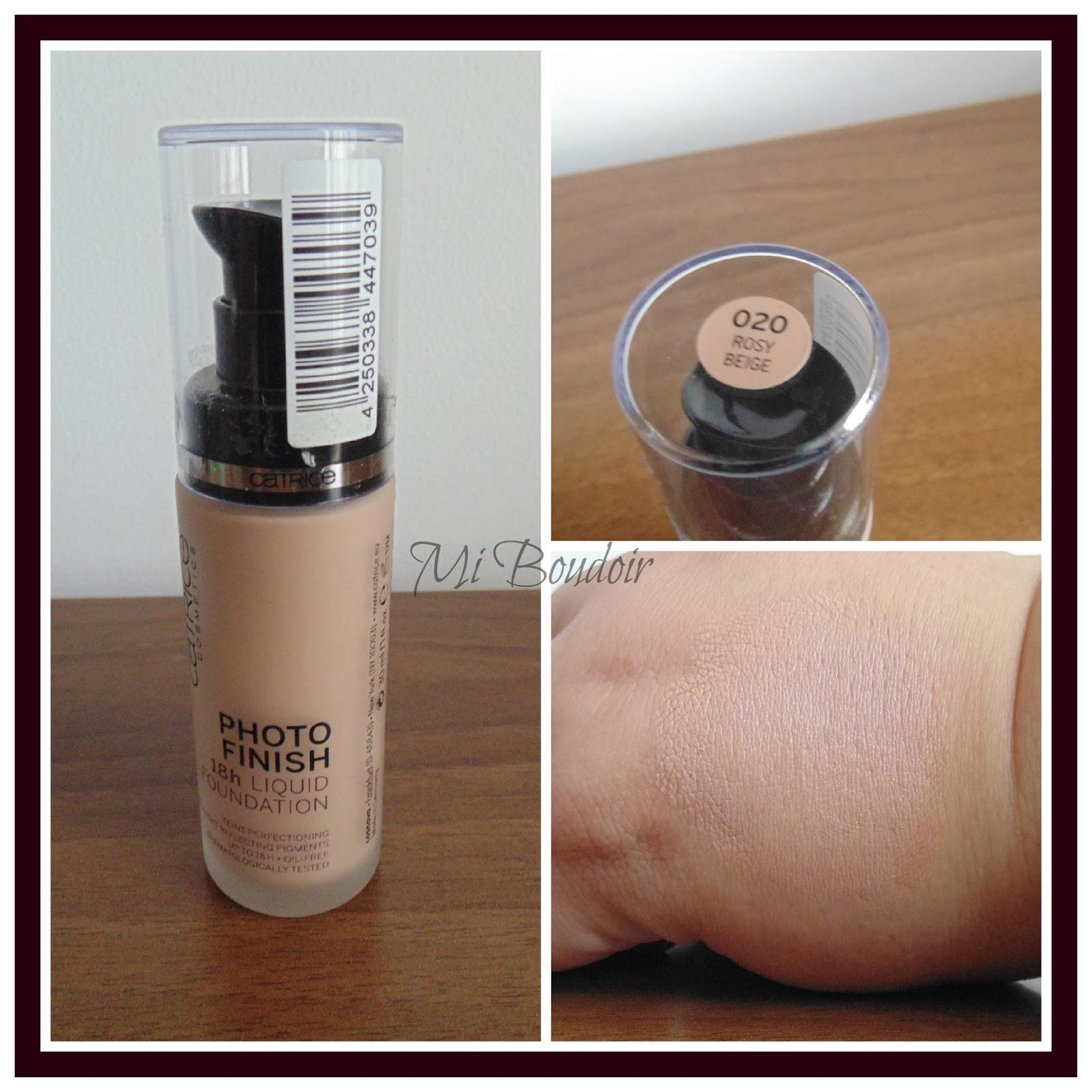 Base maquillaje Photofinish Catrice 020 Rosy Beige