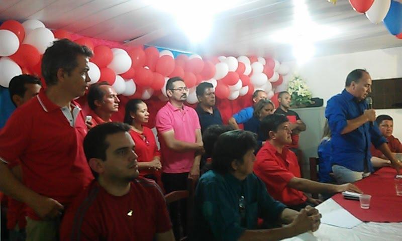 Discurso do professor Rafael na convenção da Coligação Alagoa Grande Unida, veja o vídeo