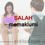 Memaklumi Yang Tidak Pada Tempatnya - Kebiasaan Buruk Orang Tua