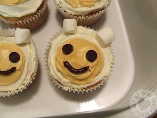 Adventure Time Birthday Cupcakes