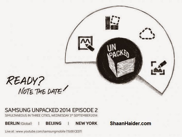 Watch Samsung Galaxy Note 4 'Unpacked Episode 2' Launch Event Live Stream Online