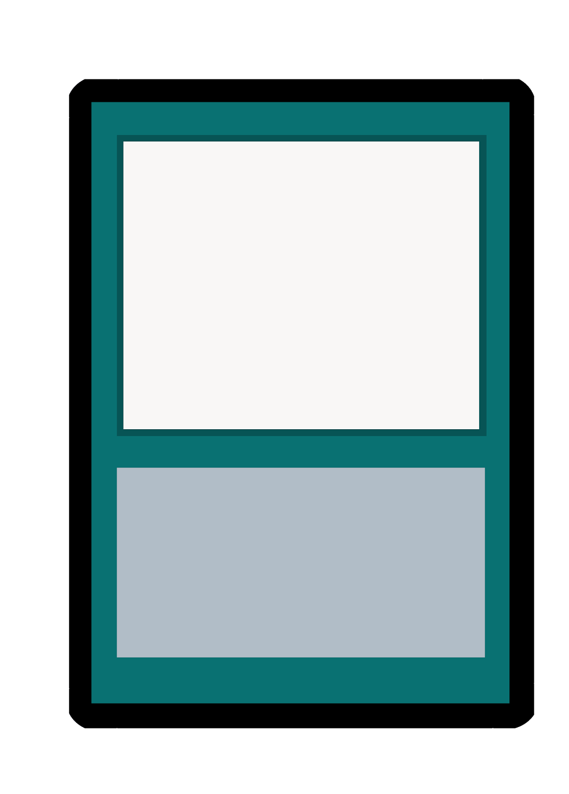 Blank Magic: The Gathering Card Template