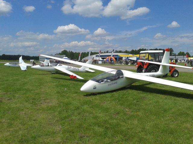 SZD-50-3 Puchacz, MDM Fox oraz SZD-54-2 Perkoz