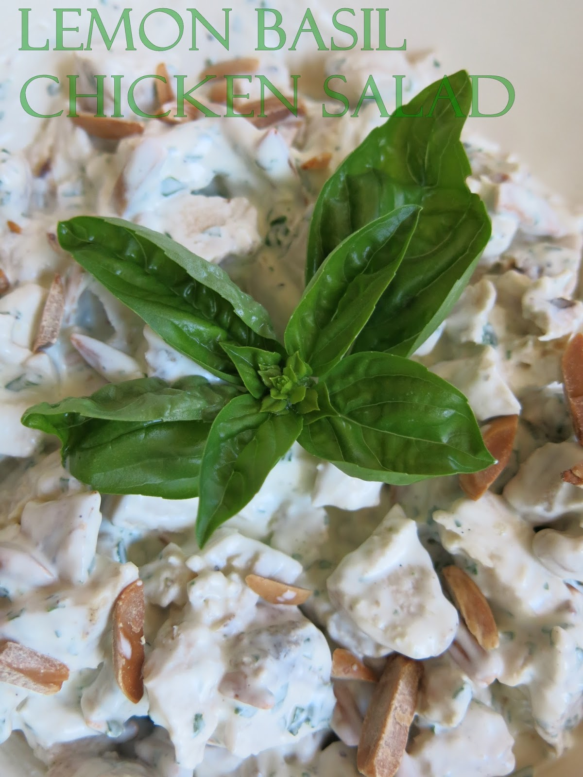 Purple Chocolat Home: Lemon Basil Chicken Salad
