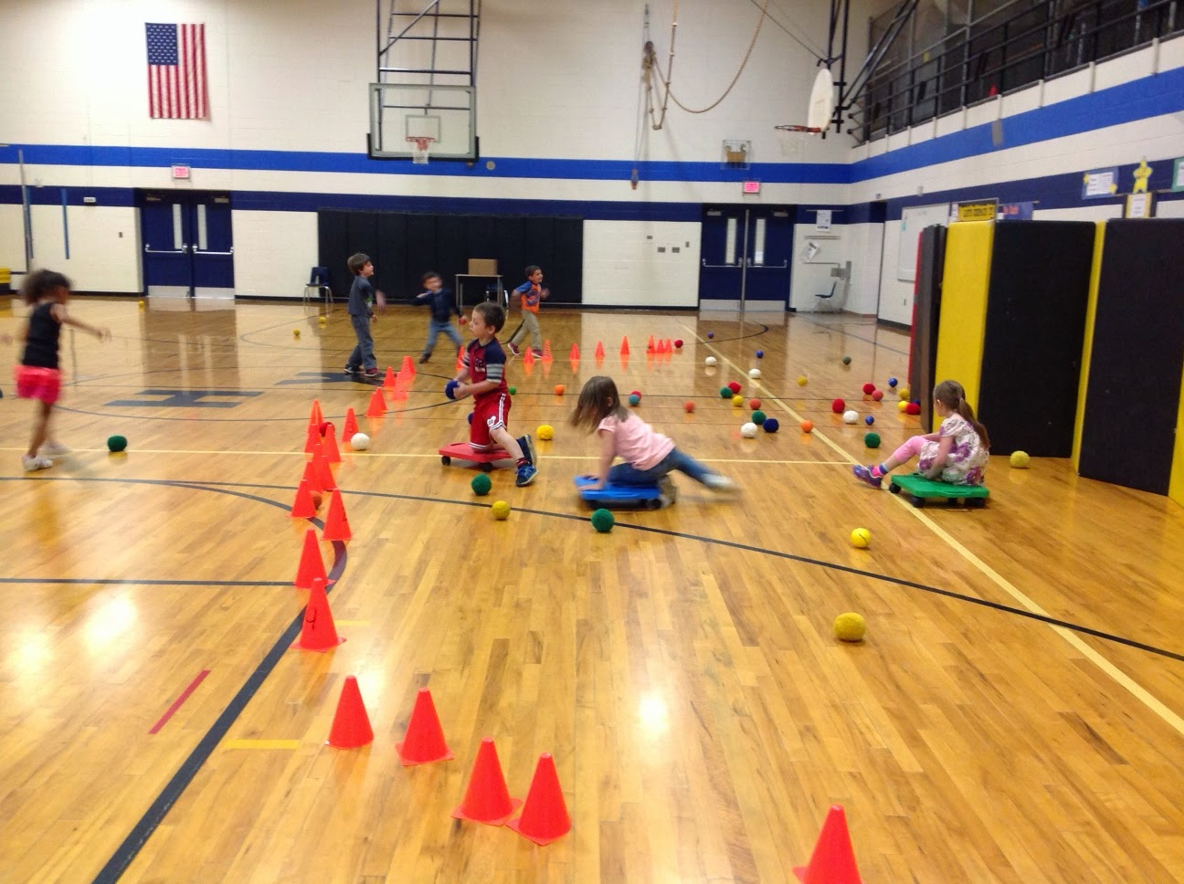 Carly's PE Games: Star Wars Throwing Game and Relay Races