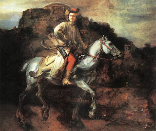 Rembrandt van Rijn, The Polish Rider