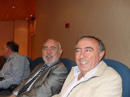 El Director Gerente de CIO Mijas y el Director del IES Al-baytar de Benalmádena.