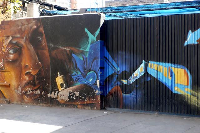 street art in santiago de chile arte callejero