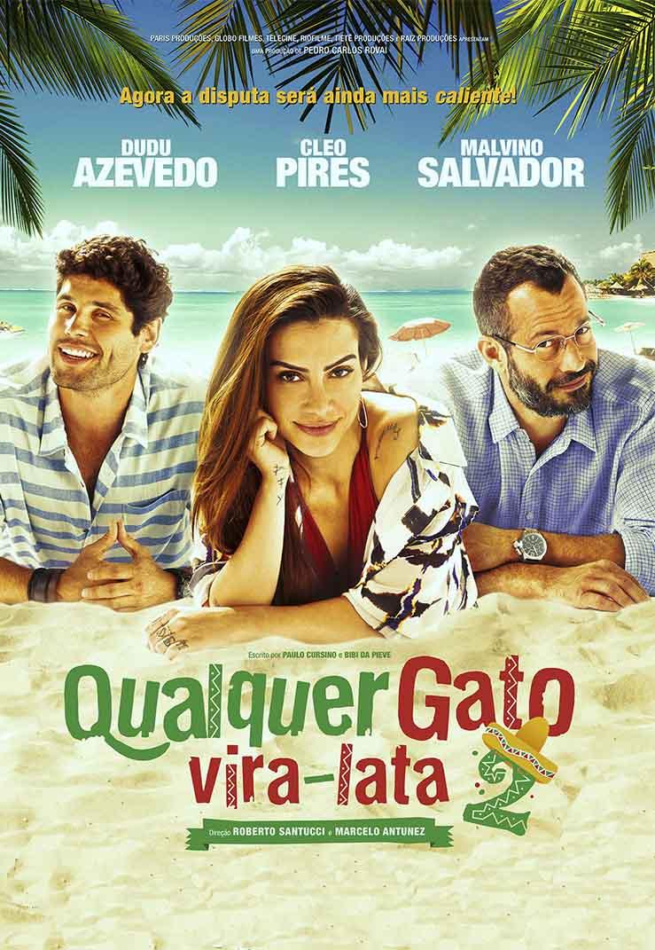Qualquer Gato Vira-Lata 2 Torrent - WEB-DL 720p Nacional (2015)