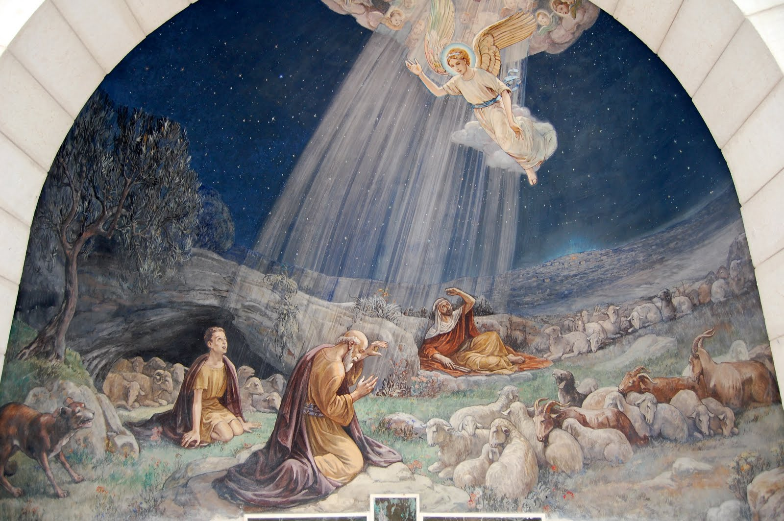 Traveling with the Travers O Little Town How Still We See You – Angels Announce the Birth of Jesus