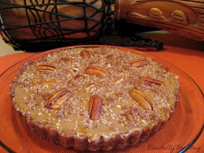 persimmon pudding/ no-pumpkin pie