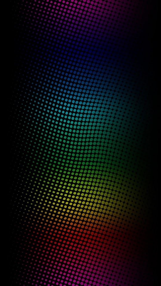 Neon Light Dots   Galaxy Note HD Wallpaper