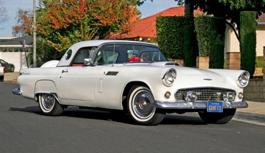 The Cars 56 T Bird