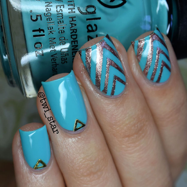 China Glaze Rain Dance The Night Away polish swatch Desert Escape Collection