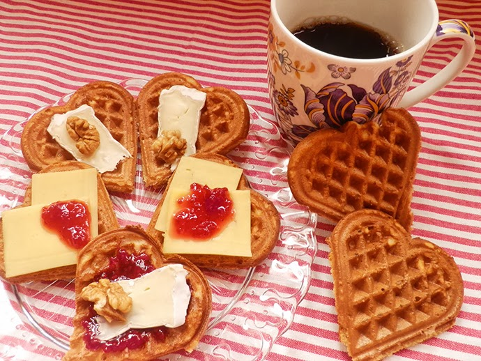 Healthy waffles recipe