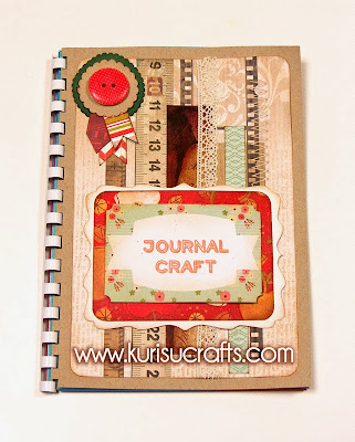 Portada art journal Kurisu Crafts