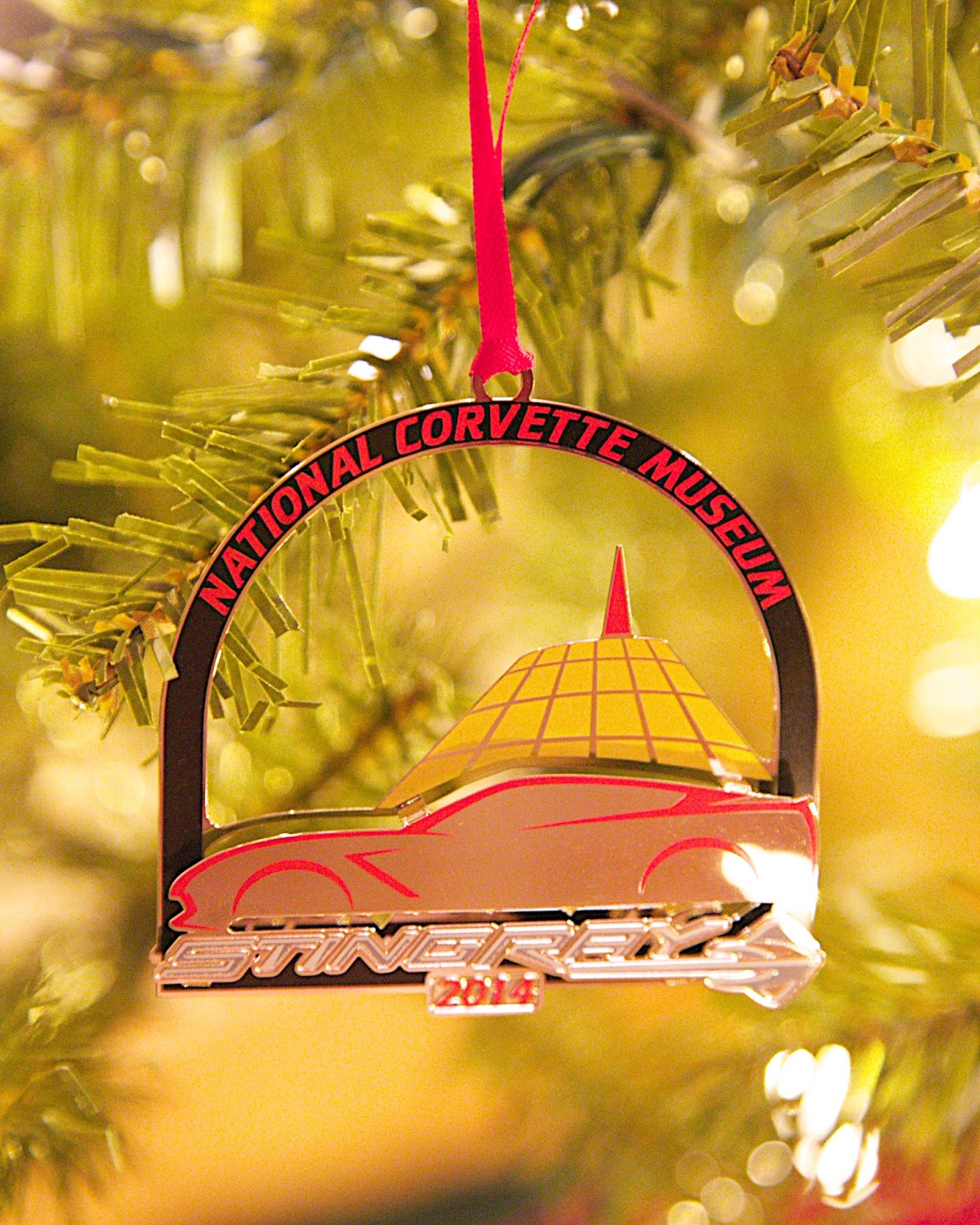 National Corvette Museum Ornament