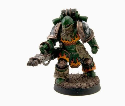 Wargames: Salamanders Pyroclast [Warhammer 40K].