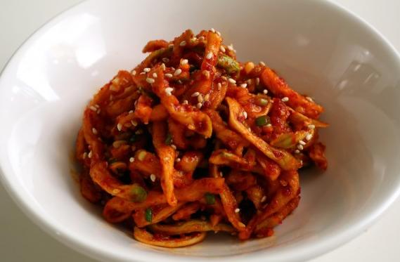 Kim chi củ cải khô ngon