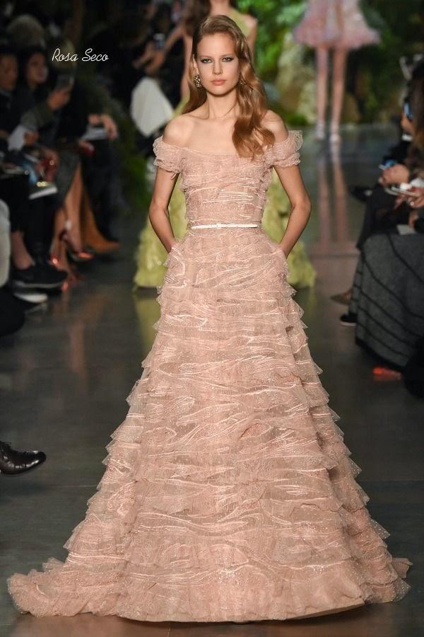 Coleção haute couture Elie Saab 2015
