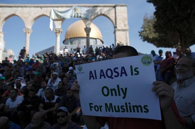 Ratusan Pemukim Yahudi Memaksa Masuki Masjid Al-Aqsha