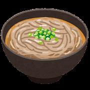 蕎麦・かけそばのイラスト
