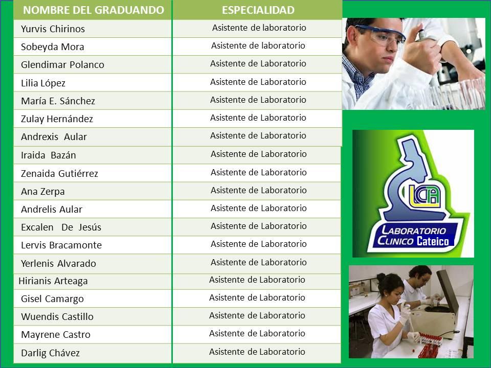 wwwinstitutocateico: YA LLEGARON LOS CERTIFICADOS DE LABORATORIO CLINICO