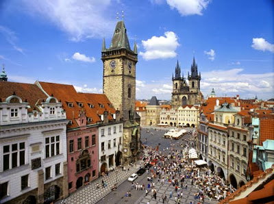 Lugares turísticos en Praga