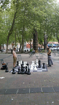 Occidental Park, Seattle, WA