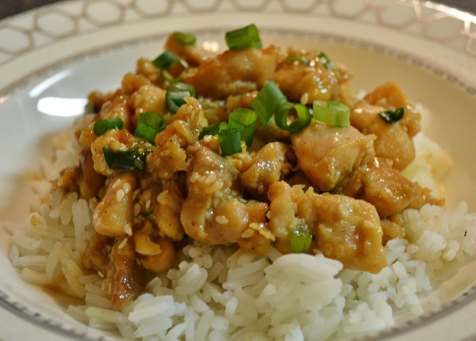 The Hungry Hood: Lighter Sesame Chicken