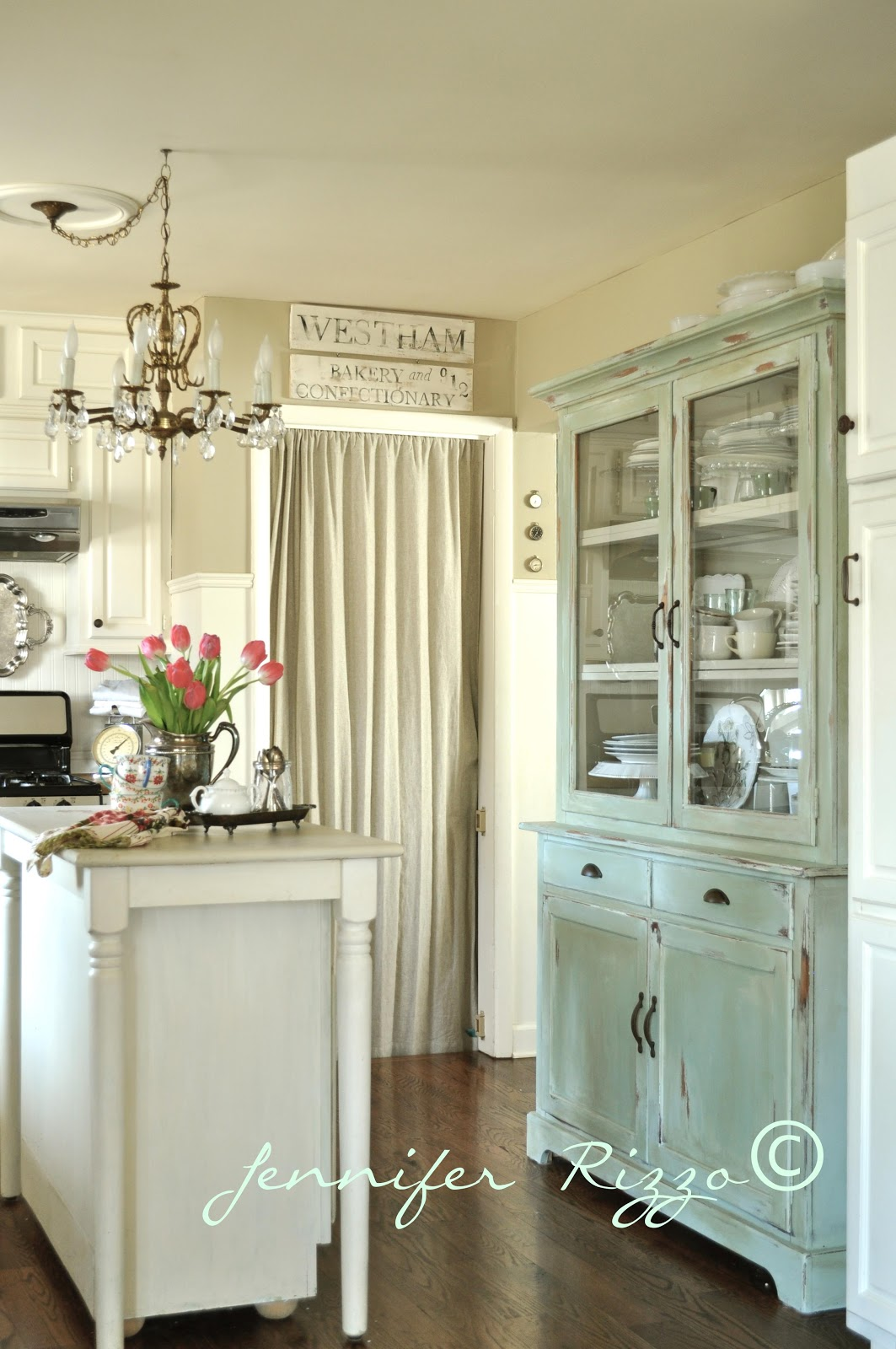 May days 10 repurpose ideas for a china cabinet for Chinese kitchen cabinets